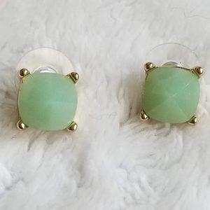 Anthropologie Seafoam Green Earrings, NEW